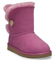 Ugg Kids Bailey Button Raspberry Rose